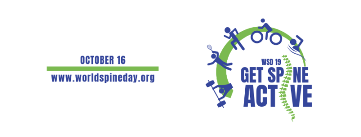 world spine day 2019 logo